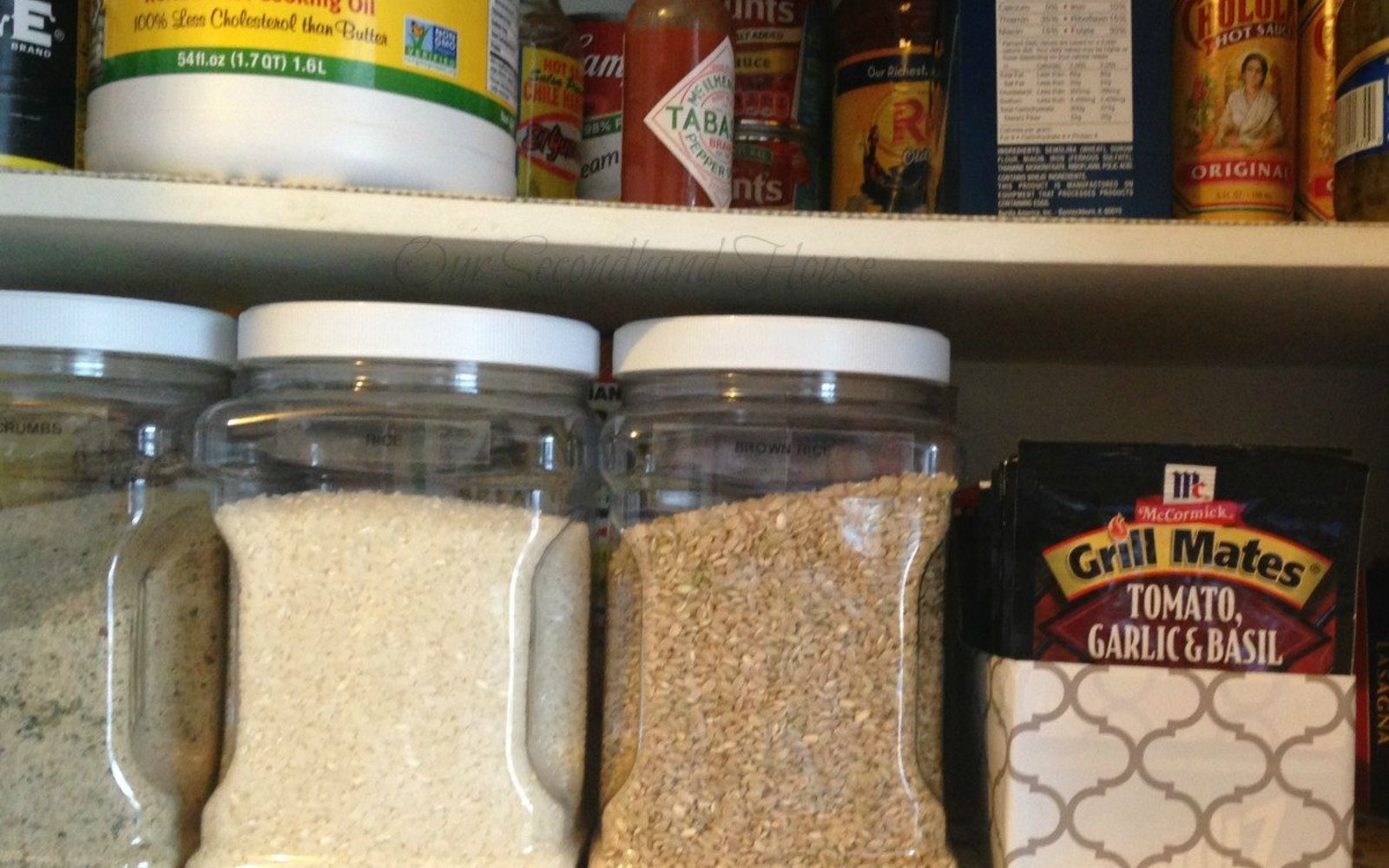 s 10 things pro organizers keep in their pantry all year long, closet, kitchen design, organizing, Recycled Cardboard Boxes