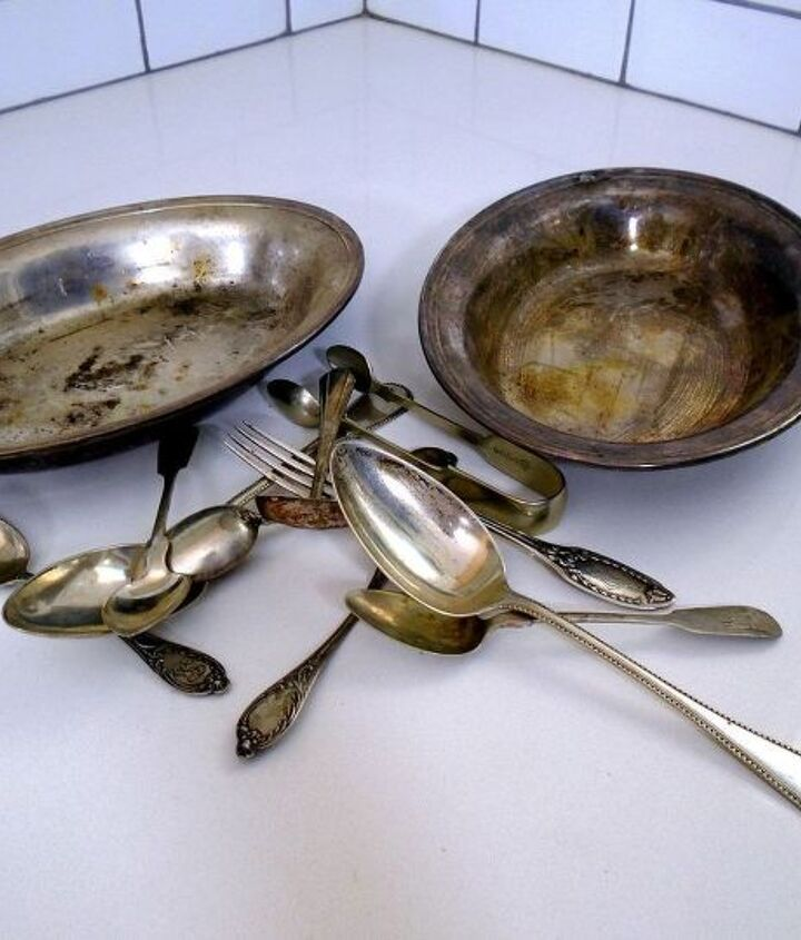 how to clean silver easily, cleaning tips, how to