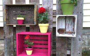 Crate Planters