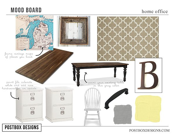 257 home office makeover 4 diy ideas , home decor, home office