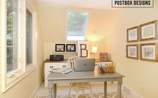 257 home office makeover 4 diy ideas , home decor, home office