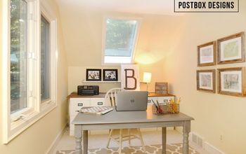 $257 Home Office Makeover (+4 DIY Ideas!)