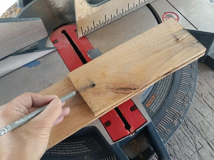 Use your first cut to measure the rest!