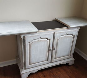 Slide Top Buffet Goes Rustic, Chalk Paint, Painted Furniture, Rustic  Furniture