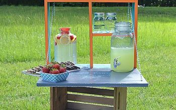 diy drink station, outdoor furniture, outdoor living