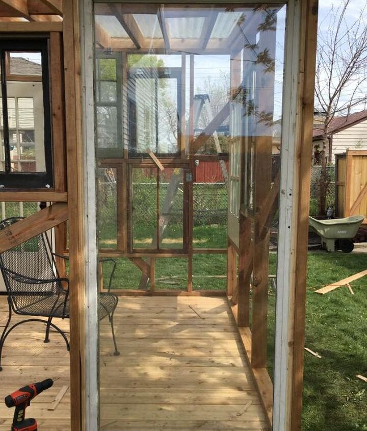Love how this sliding glass door turned out.