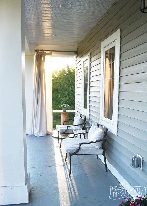 a farmhouse country boho porch makeover, home decor, outdoor living, porches