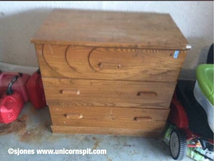 beat up to beauty with unicorn spit spitchallenge creativejuice, how to, painted furniture, 20 Craigslist Find