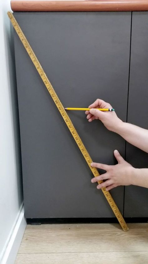 make designer cabinet pulls for 1 50 each, crafts, how to, painted furniture
