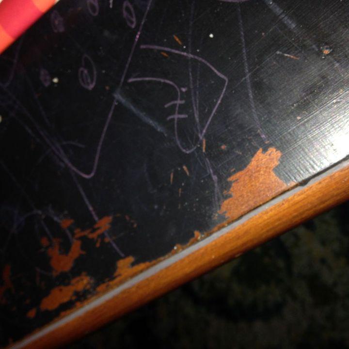 blackboard chalk paint removal hometalk