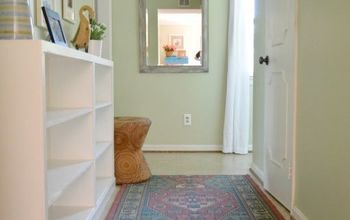 yucky thrift store bookcases to gorgeous built ins , diy, shelving ideas, woodworking projects