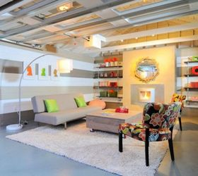 Convert The Garage To Your Living Space, Garages, Living Room Ideas