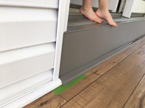Doorfloor Trim Help Needed Hometalk