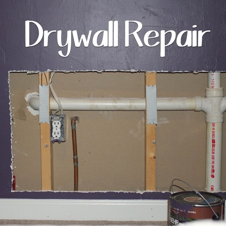 indoor drywall repair, diy, home maintenance repairs, wall decor