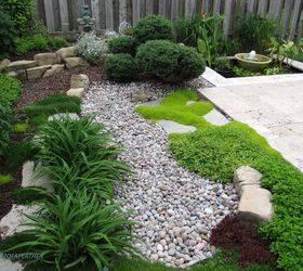Low Maintenance Gardening Part 1 Dry Creek Bed, Gardening, How To,  Landscape,