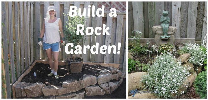 low maintenance gardening part 2 rock garden, gardening, how to, landscape, outdoor living, succulents