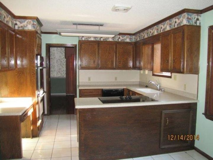Kitchen Cabinet Refacing: Using Wall Paper! | Hometalk