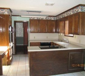 & Kitchen Cabinet Refacing: Using Wall Paper! | Hometalk