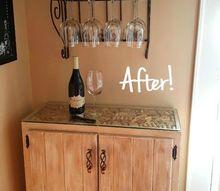 diy liquor cabinet, diy, kitchen cabinets, painted furniture