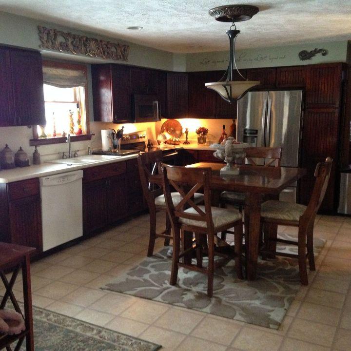 Yellow Oak Cabinets Transform!