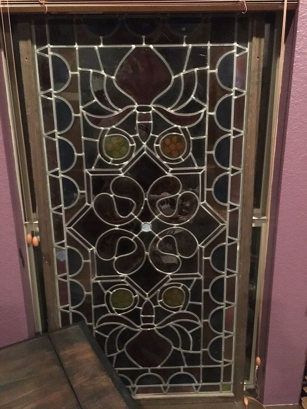q anyone know how to clean stained glass window , cleaning tips, house cleaning, windows