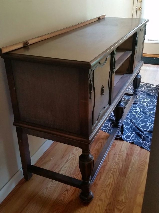 restoring antiques and veneer repairs diy, painted furniture, woodworking projects