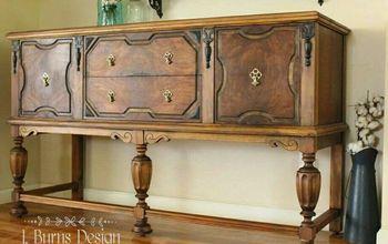 Restoring Antiques and Veneer Repairs DIY