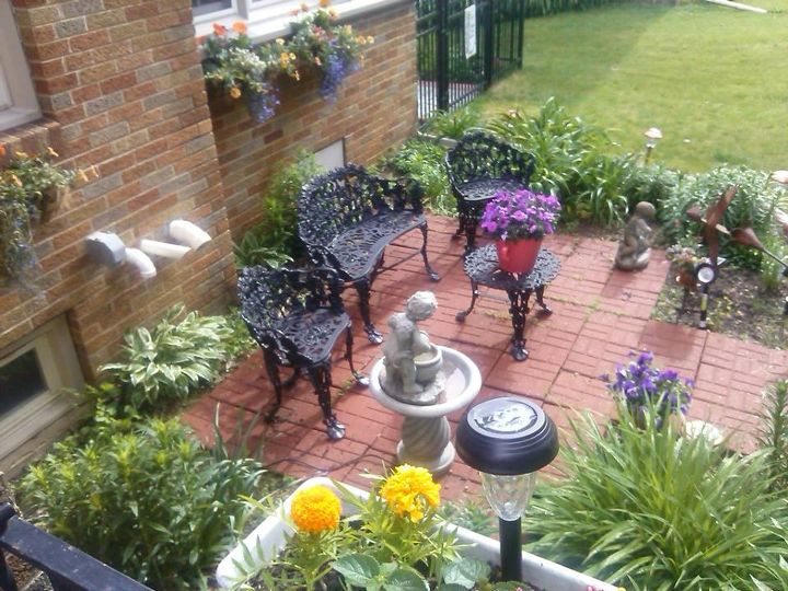 my large landscape project, flowers, gardening, landscape