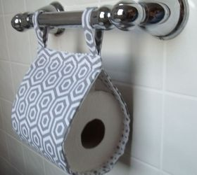 Fabric Toilet Paper Holder Hometalk
