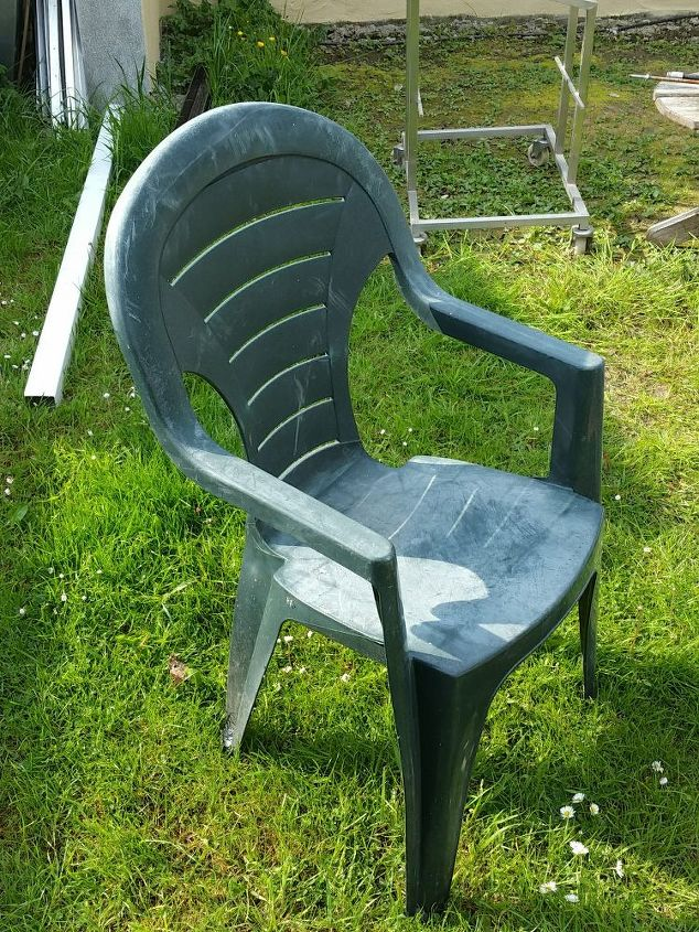Super How To Cover A Old Plastic Chair In Concrete Hometalk Lamtechconsult Wood Chair Design Ideas Lamtechconsultcom