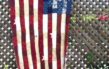 How to Make a Patriotic Patchwork Quilt Flag