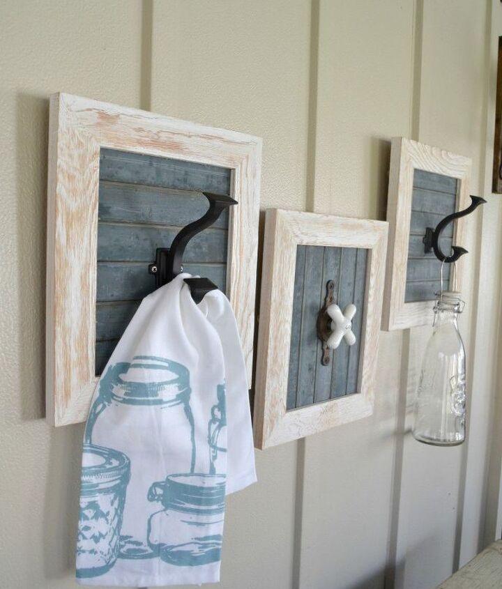 s 11 actually helpful tricks for decorating a small bathroom, bathroom ideas, Hang towel hooks that make a statement