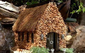 make a little church for your miniature garden, crafts, decoupage, gardening