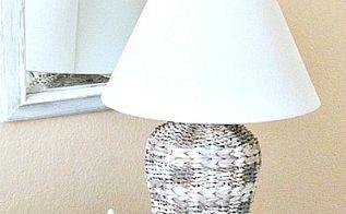 diy lamp makeover, crafts, diy, lighting