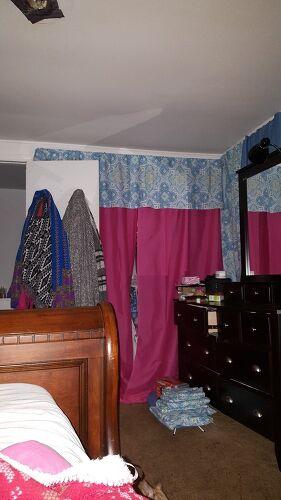 Closet Without Doors Hometalk
