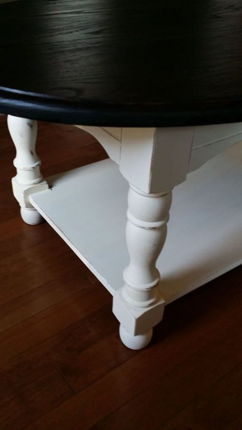 goodwill coffee table, painted furniture