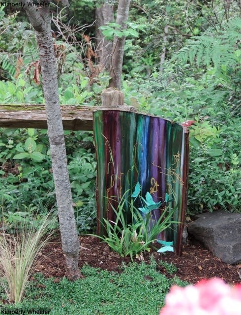 Unicorn SPiT on Bark Garden Accent ~ | Hometalk