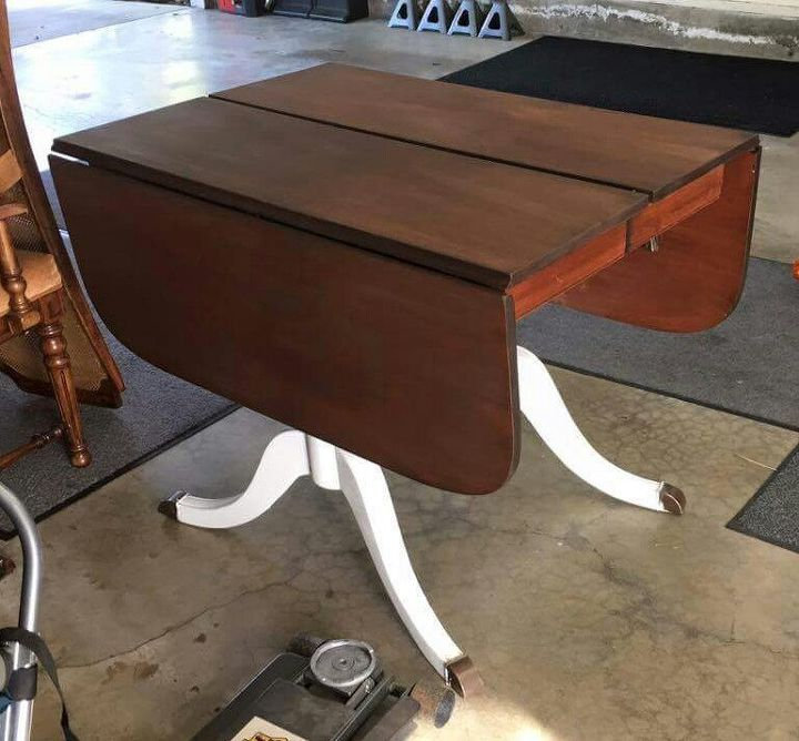 Updating An Old Drop Leaf Table And Chairs Hometalk