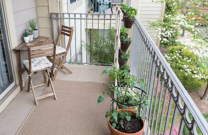 My Apartment Balcony Garden & DIY Squirrel Repellant Spray