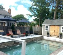 decorating the outdoors makeover phase 2, outdoor furniture, patio, pool designs