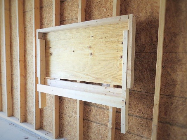 Diy A Folding Workbench Hometalk