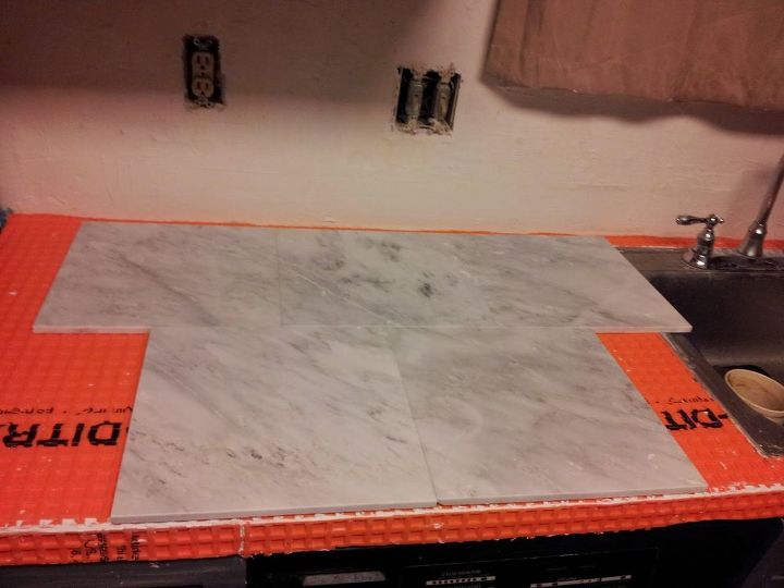 Completely New Marble Countertop Hack How To Tile Over Laminate Po09
