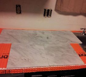 Marble Countertop Hack How To Tile Over Laminate Countertop, Countertops,  How To, Kitchen