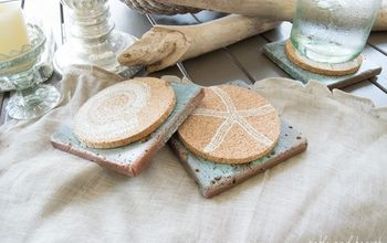 Easy Way to Make A Copper Patina on Tiles!