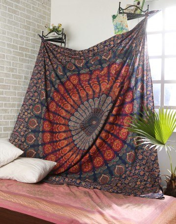 q is this bohemian tapestry a right art piece for my bedroom wall , bedroom ideas, wall decor, Bohemian tapestry