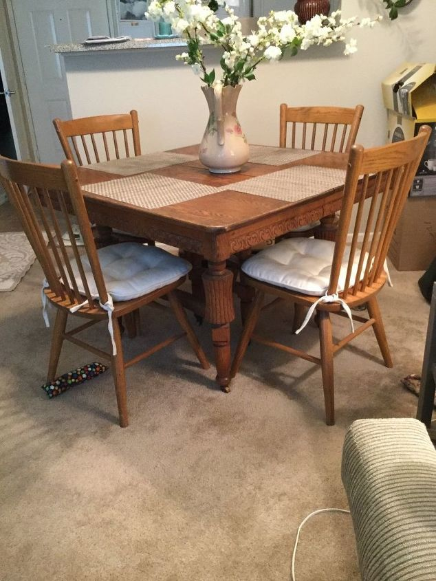 Need To Update An Old Oak Dining Table Hometalk