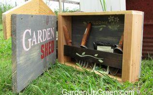 diy garden box for small tools, gardening, repurposing upcycling