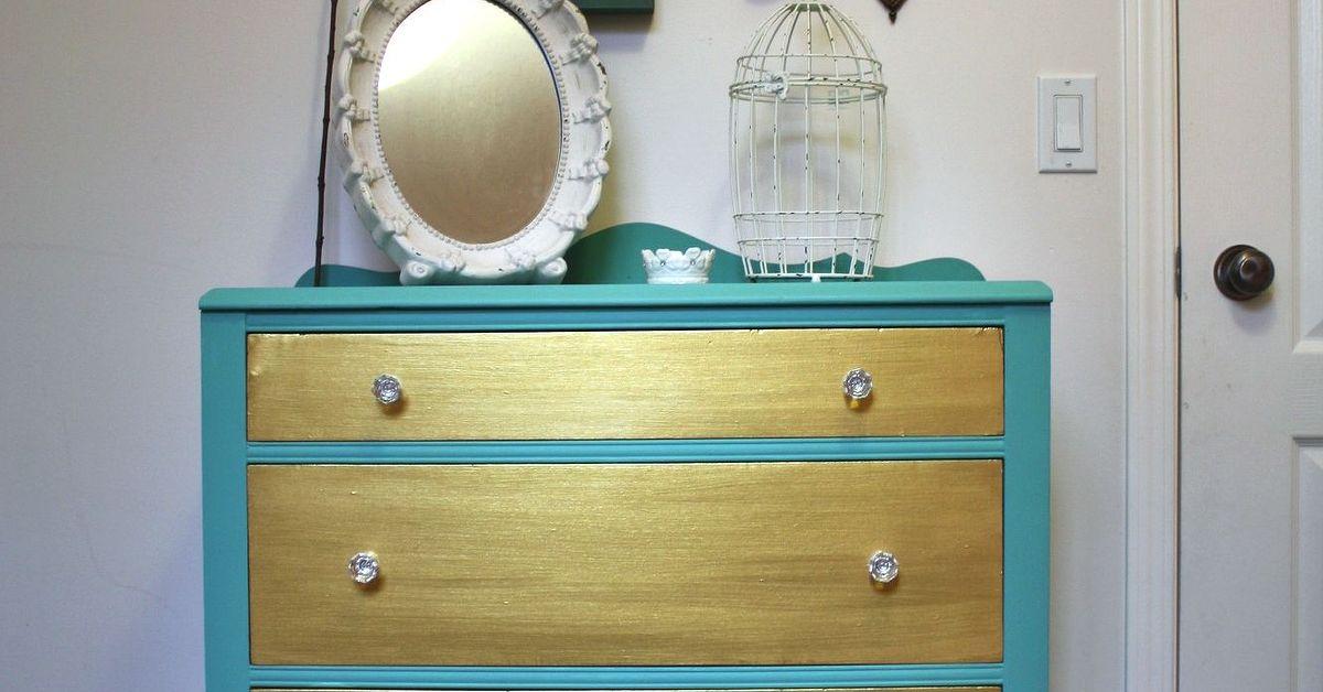 Charming Two-Tone Dresser | Hometalk