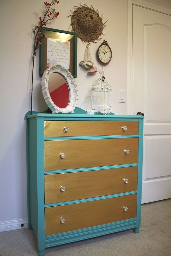 Charming Two Tone Dresser Hometalk