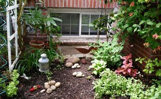 turn a meh corner garden corner into a wow in 6 easy steps, gardening, landscape, And here it is